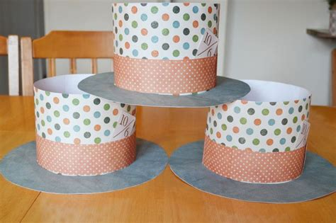 How To Make Paper Top Hats - paper plate hat template paper hats tutorial paper