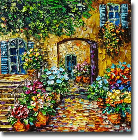 Lukisan Pallet Lzd Okt 10 new orleans by beata sasik palette knife painting