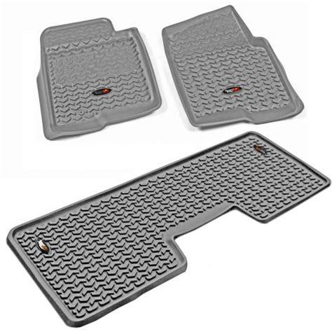 rugged ridge floor mats f150 2011 14 ford f150 truck floor liner rugged ridge 84902 31