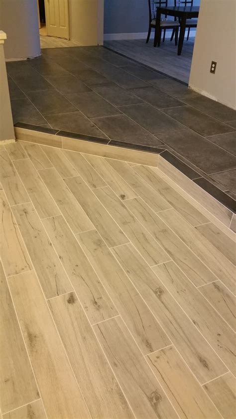 help our wood look tile was not laid randomly