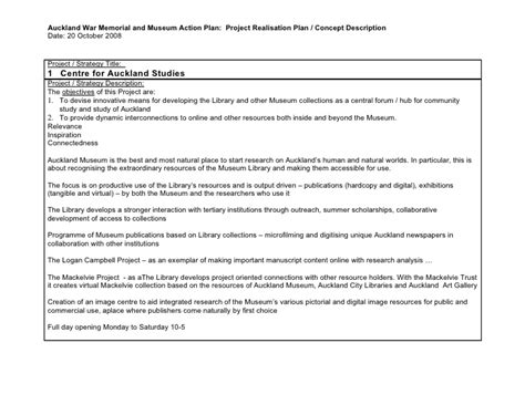 concept note template for project project planning template