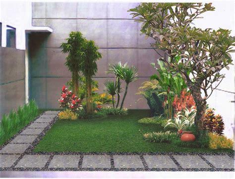 menciptakan desain taman depan rumah yang bagus minirumah