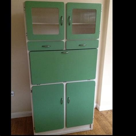 1950s Kitchen Larder Cupboard by Retro Vintage Kitchen Cabinet Cupboard Unit Kitchenette