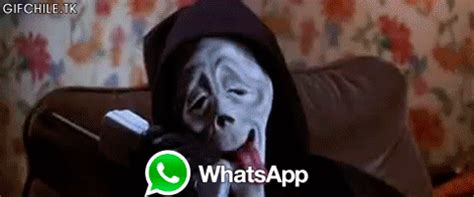 Scream Wazzup Meme - gif lol fail movie wtf horror scream scary movie cellphone