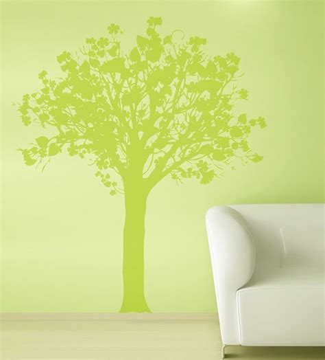 green wall stickers green tree wall sticker home decorating photo 32022628 fanpop
