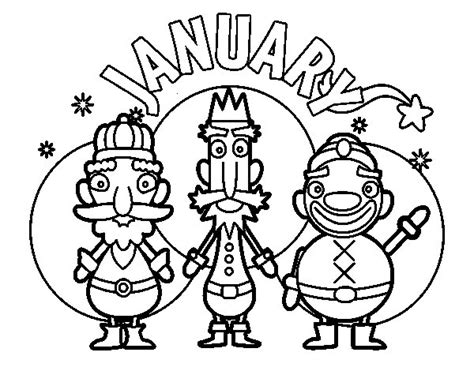 january color january coloring pages best coloring pages for