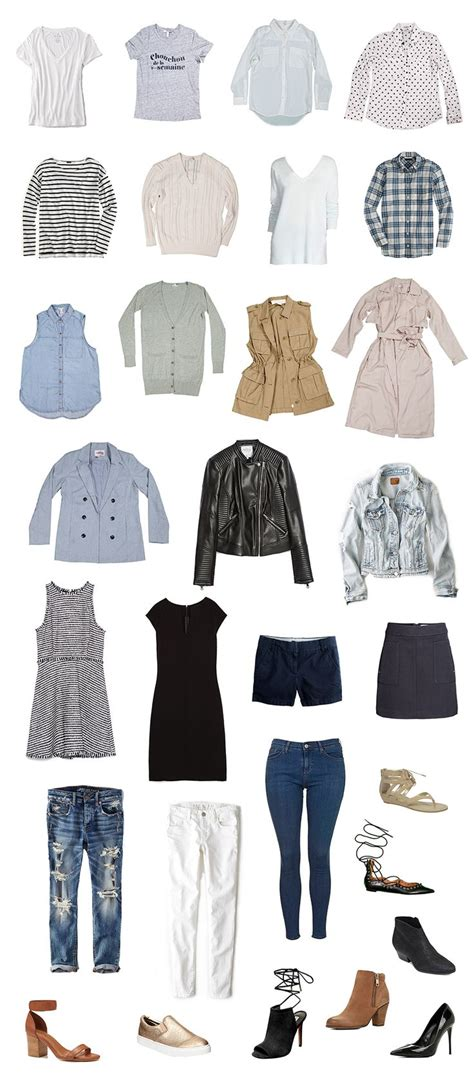Creating A Capsule Wardrobe Tips by