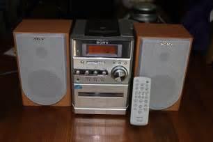 sony cmt ne3 compact stereo bookshelf am fm cd cassette