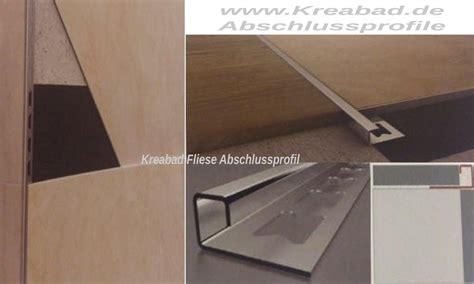 fliesen abschlussleiste edelstahl fliesen abschlussprofile 14mm 250cm edelstahlschienen v2a