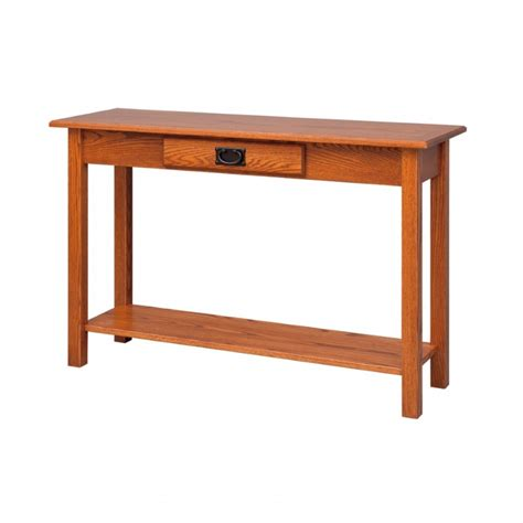 Mission Sofa Table Amish Mission Sofa Table Country Mission Sofa Table