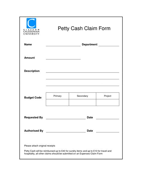 petty cash reimbursement request form pictures to pin on