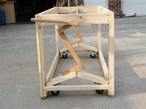 castors  bench diy woodworking workbench casters