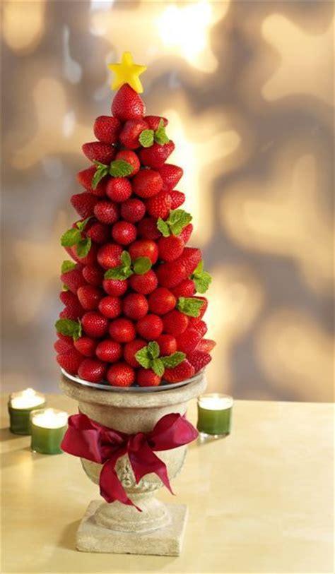 strawberry tree centerpiece new living - Edible Tree Centerpiece