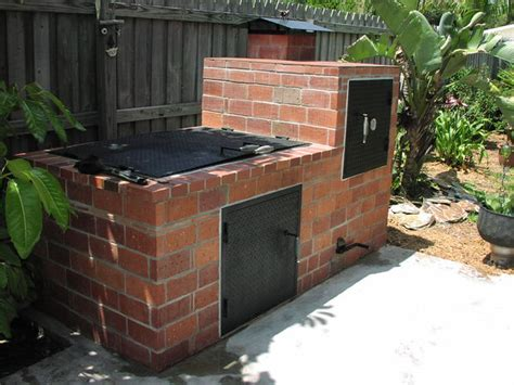 backyard barbecue pit 12 smokehouse plans for better flavoring cooking and