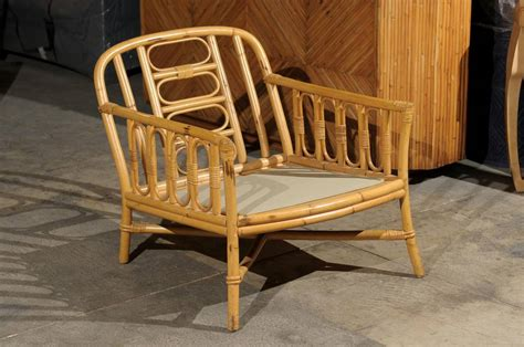 Ficks Reed Chair by Decorative Pair Of Vintage Rattan Lounge Chairs By Ficks