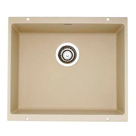 blanco one sink blanco precis undermount composite 21 in single bowl