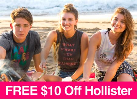 Can You Use Abercrombie Gift Card At Hollister - hot 10 off any hollister online purchase freebies