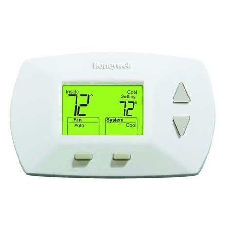 Honeywell Deluxe Digital Non Programmable Heat/Cool Thermostat RTHL3550   The Home Depot