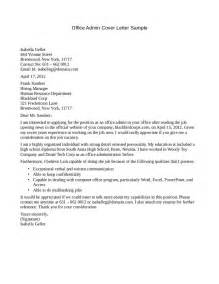 office cover letter cover letter for office assistant with no