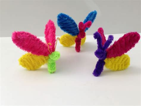 pipe cleaner crafts for pipe cleaner butterfly diy tutorial 4 crafts モール