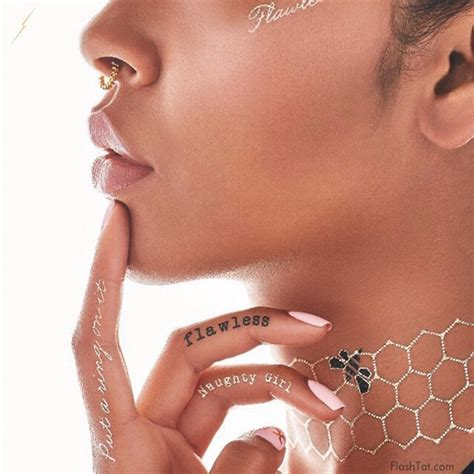 beyonce s tattoos beyonce launches temporary line with flash tattoos