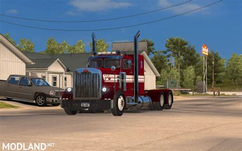 peterbilt trucks peterbilt custom 351 mod for truck simulator ats