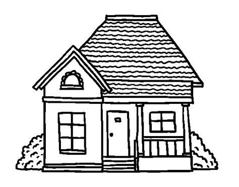 desenho de casas desenho de casa de co para colorir colorir
