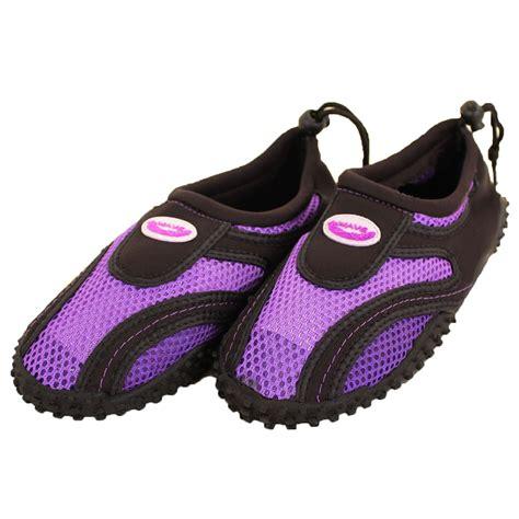 aqua slippers womens water shoes aqua socks slip on pool swim surf