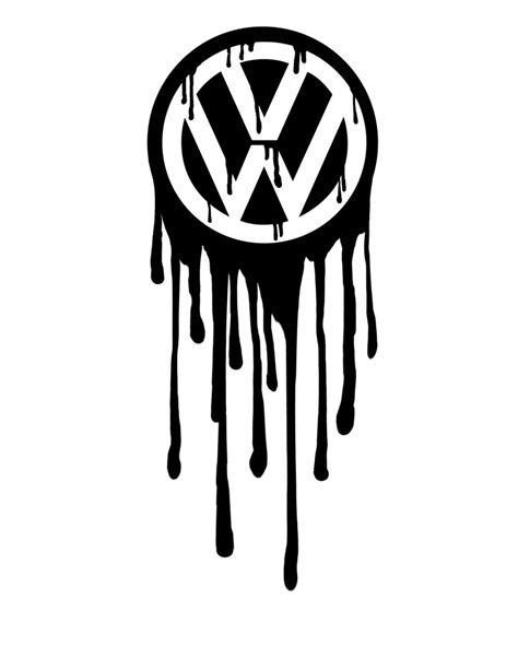 volkswagen logo bleeding by greenbob1986 on deviantart