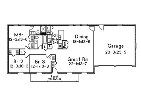 basic ranch floor plans simple ranch house plans simple open ranch floor plans