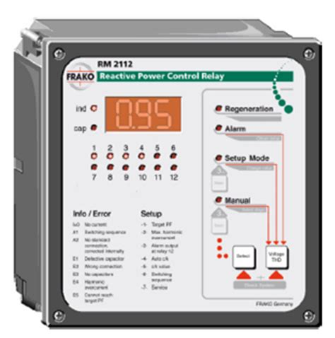 capacitors with automatic power factor controller when installed in a plant power factor correction pfc parts products enertec nz