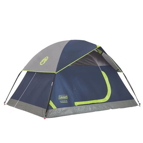 coleman tent awning coleman sundome 2 person outdoor hiking cing tent w