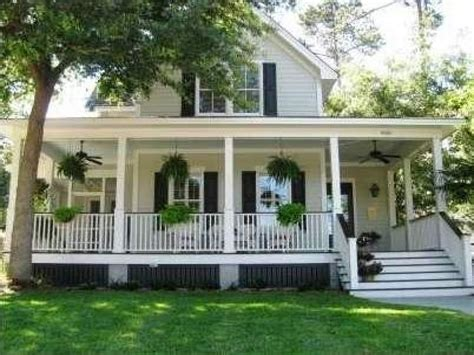 Wrap Around Porch Plans Southern Country Style Homes Southern Style House With Wrap Around Porch Southern Style