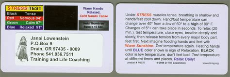 stress test card template free air business cards gallery card design and