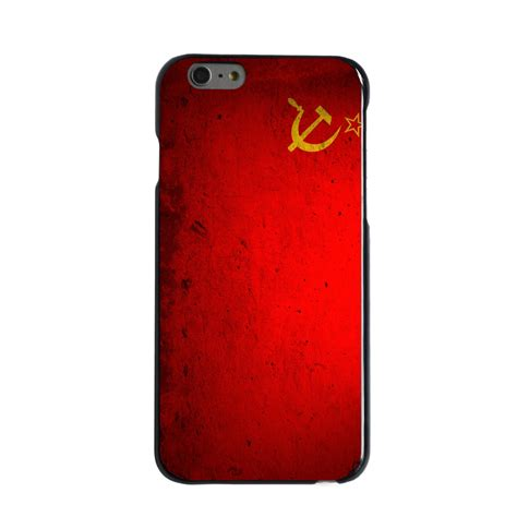 Casing Hp Iphone 6 6s Custom Hardcase Cover custom cover for iphone 5 5s 6 6s plus ussr