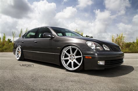 lexus gs300 rims lexus gs300 sport design on velgen wheels vmb8