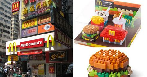 Lego Mac Donal mcdonald s launches lego style range of collectibles