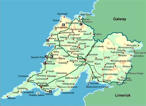 map of ennis map of county clare roots mothers