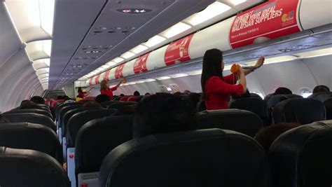 airasia macau macau february 24 2015 inside airasia plane at