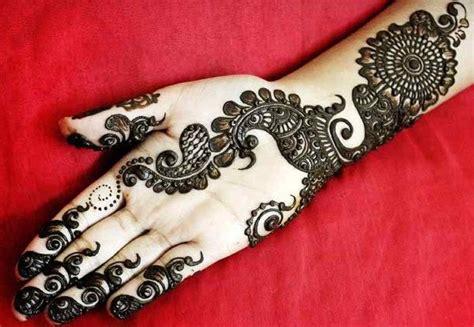 Front Hand Arabic Mehndi Designs For Stylish Girls Women Arabic Designs
