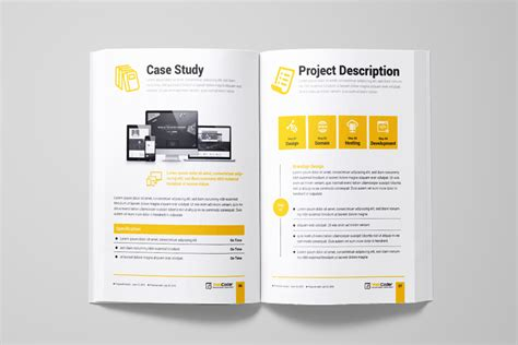 Web Proposal For Web Design And Development Agency Corporate Identity Template 66132 Web Design Study Template