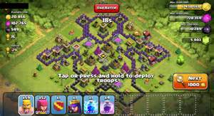 Clash of clans base setups clash of clans tips
