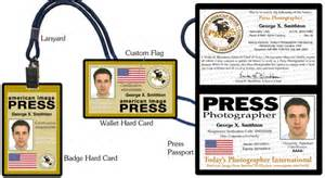 Press Card Template Free Gold Press Credentials Ii Special Order Page
