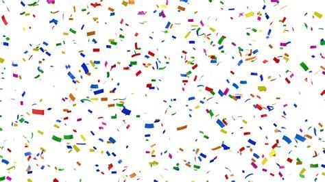 confetti background falling colorful confetti on white background hq seamless
