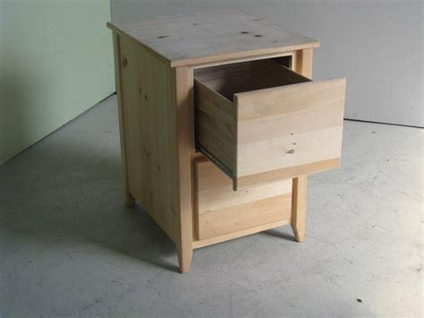 Custom 2 Drawer Wooden File Cabinet by ECustomFinishes