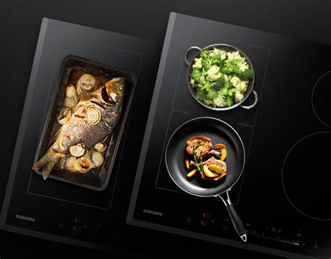 samsung kochfeld nz5000 induction cooktop 60cm wide flex zone cooking home