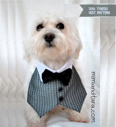 vest for dogs tuxedo vest pattern free pdf