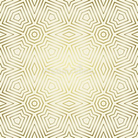 pattern geometric elegant seamless pattern with symmetric geometric ornament