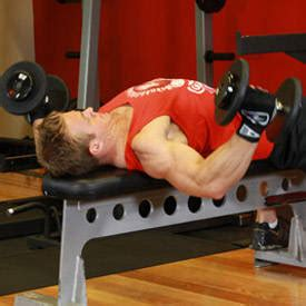 flat bench flyes dumbbell flyes exercise guide and video
