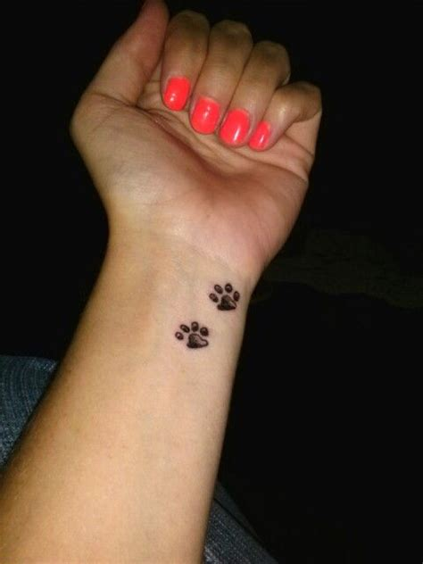 puppy paw tattoos designs pin by bethany on tat ideas tattoos
